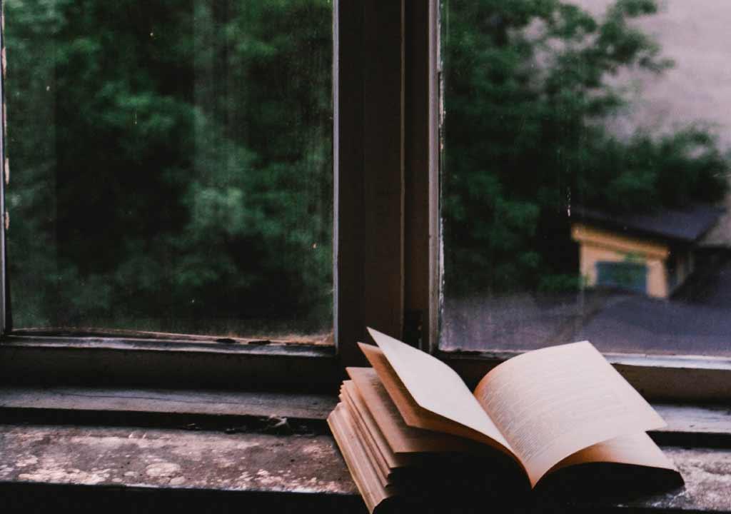 Libro en la ventana - Nosotros Psicologos Embajadores Madrid